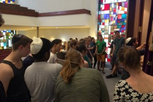 Jahrgang 10 in der Synagoge und der Kunsthalle