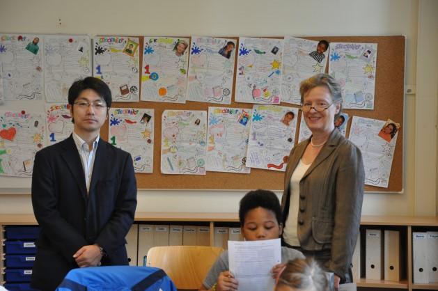 Ein Gast aus Japan