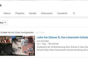 Musikvideos der Klasse 5t und Youtube-Kanal