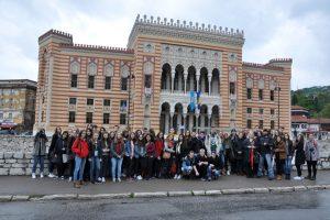 Unsere Schüler*innen in Sarajevo
