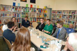EU-Bildungskommission zu Gast in der ILS