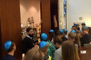 Interkulturelle Projektwoche zum Judentum und Vortrag von Arie Rosen an der ILS
