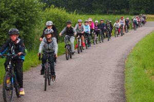Die Klassen 5e und 6e auf Radtour
