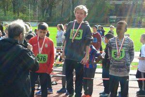 Waldlauf – 3. Platz in der Gesamtwertung!