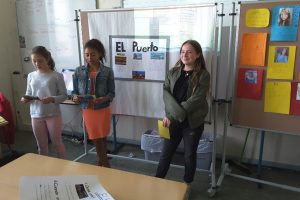 Besuch aus kolumbianischer Partnerschule
