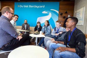 Englischkurs trifft internationale Führungskräfte bei Barclaycard