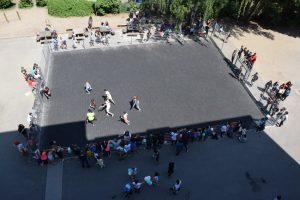 Sportliche Einweihung des neuen Soccerfields am Standort Imstedt