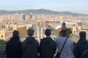 Spanischkurs fliegt nach Barcelona