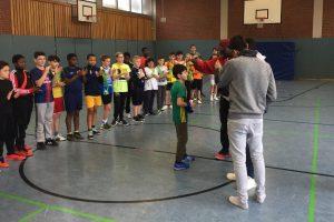 Schulsprecher organisieren erstes Auswahltraining