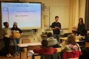 Erste Klassensprechersitzung im neuen Schuljahr