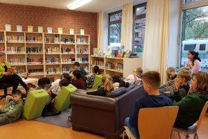 Vorlesetag an der Ilse-Löwenstein-Schule