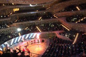 Mit Meute in der Elbphilharmonie